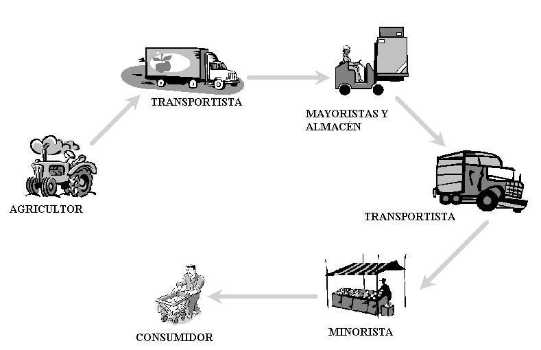 Circuito Productivo Del Tomate : Tema las actividades econÓmicas y los circuitos