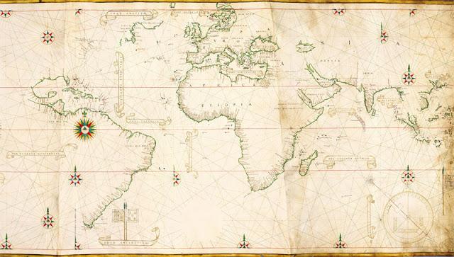 La Conquista y la Colonizacin de Amrica a travs de los mapas