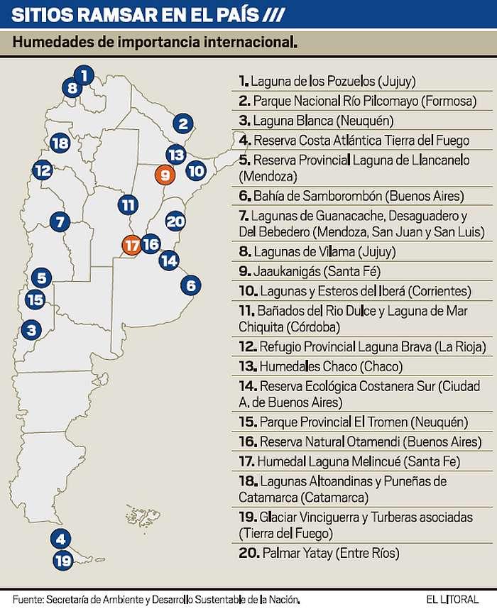 Sitios Ramsar Geograf A De San Luis
